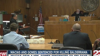 Isaac Macias and Ibrahim Gomes sentenced for killing Leslie Baldarrama - Video