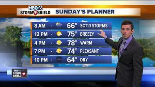 Matt's holiday weekend forecast - Video