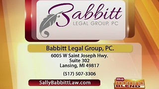 Babbitt Legal Group, PC.- 12/7/16 - Video