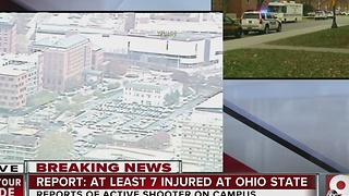 Ohio State active shooter: Where on Ohio State University campus incident happened - Video