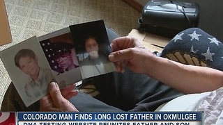 Colorado Man Finds Long Lost Father In Okmulgee - Video
