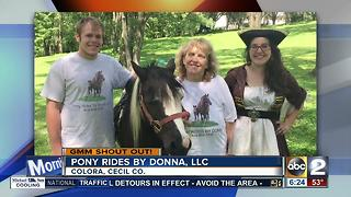Good morning from Pony Rides by Donna, LLC in Cecil County