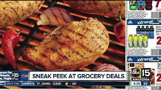 Sneak peak at the best grocery deals in the Valley - Video