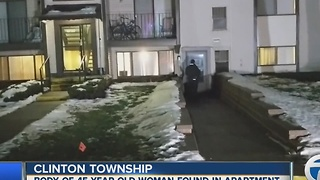 Body found inside Clinton Township apartment