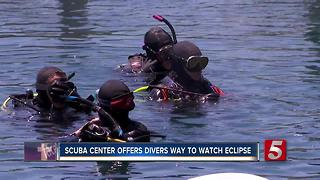 Divers Offered Special Way To Watch Eclipse - Video