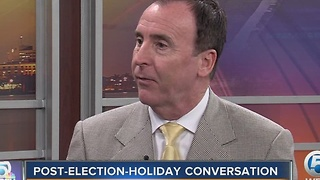 Tips on handling holiday political conversations after presidential election - Video