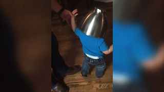 Battle Ready Baby's Cute Helmet - Video