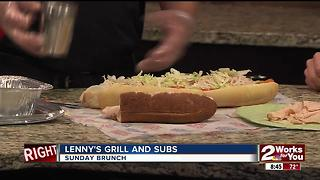 Sunday Brunch - Lenny's Grill and Subs - Video