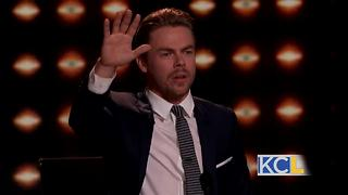 "Derek Hough talks about being a judge on ""World of Dance"" - Video"