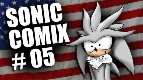 Sonic Comics #5 - Fireworks Gone Wrong
