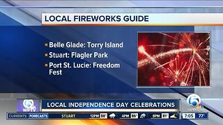 Local fireworks guide for South Florida - Video