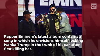Tolerant Eminem Gets Blasted After Boasting About Trump Murder - Video
