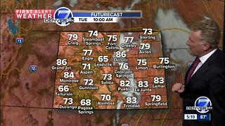 Warming up across Colorado - Video
