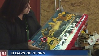 Local mom excited for Christmas thanks to 13 Days of Giving - Video