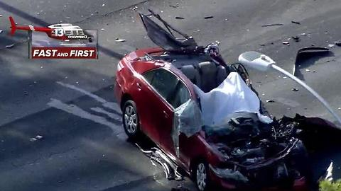 1 dead, 2 injured in police chase