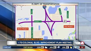Big changes could come to Colonial/I-75 interchange in Fort Myers - Video