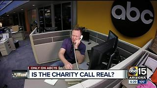 Police charity asking for money - is it a scam? - Video