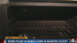 Explosive found in oven - Video