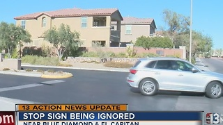 Homeowners association responds to stop sign issue - Video