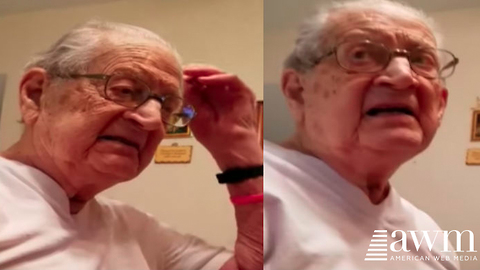 Omaha Retiree's Reaction To Finding Out He's 98-Years-Old Has Given Him 15 Minutes Of Fame