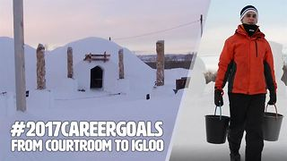 Would you ditch it all for an ice palace? - Video