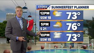 Brian Gotter's Tuesday 10pm Storm Team 4cast - Video
