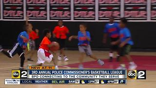 Police Commissioner's Basketball League kicks off - Video