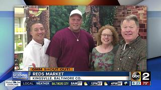 Reds Market in Kingsville says Good Morning Maryland