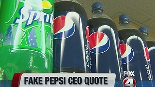 Some boycott Pepsi after CEO misquoted - Video