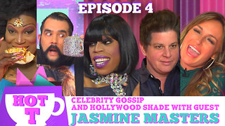 JASMINE MASTERS on HOT T! Celebrity Gossip and Hollywood Shade! Season 3 Episode 4 - Video