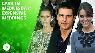 Cash in Wednesday: Expensive celeb weddings - Video