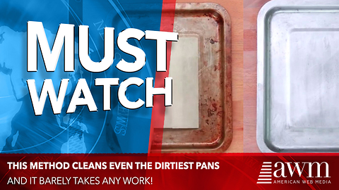 Simple Method Makes Even The Dirtiest Pans Look Brand New With Barely Any Work