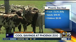 Phoenix Zoo offering savings