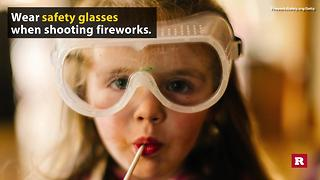 Fireworks safety tips | Rare Life - Video