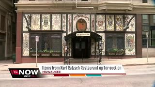 Items from Karl Ratzsch restaurant up for auction - Video