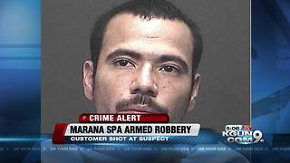 Marana police arrest armed robbery suspect - Video