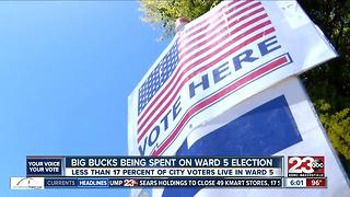 Big Bucks Being Spent on Ward 5 Election - Video