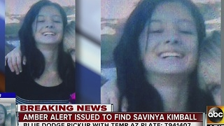 AMBER Alert: Officials searching for missing Safford girl - Video