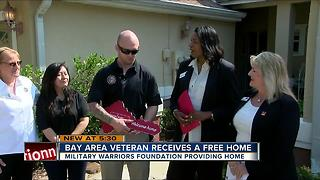Florida wounded vet gets free home in Tarpon Springs - Video