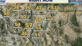 Freeze warning issued for Wednesday morning in Las Vegas - Video
