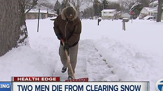 Dangers of shoveling show - Video