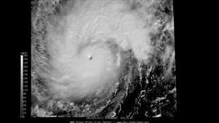 Satellite Imagery Shows Super Typhoon Nock-ten Approaching Philippines - Video