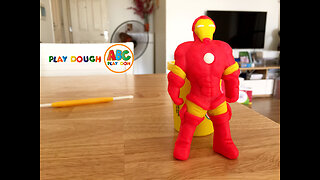 How to make Iron Man from PlayDoh