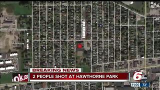 15-year-old shot at park on Indy's west side - Video