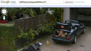 10 Weirdest Things On Google Street View - Video