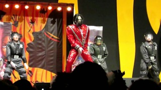 Drag Queen competition - Michael Jackson impersonator  - Video