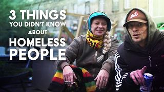 Debunking homelessness with a homeless couple - Video