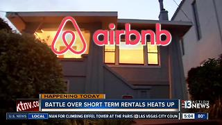 Battle over short term rentals heat up - Video