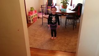 Baylee 'Metallica' lives up to her name - Video