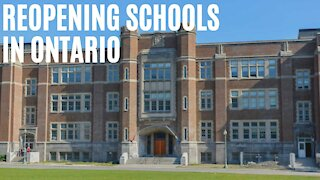 Ontario Has Picked Their Favourite School Reopening Plan